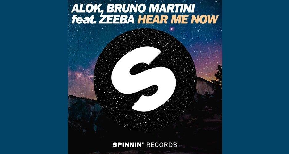 Alok e Bruno Martini Hear Me Now
