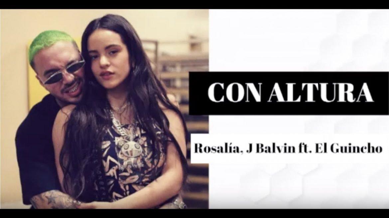 ROSALÍA, J Balvin – Con Altura ft. El Guincho