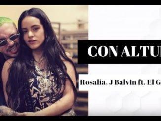 ROSALÍA J Balvin Con Altura ft. El Guincho