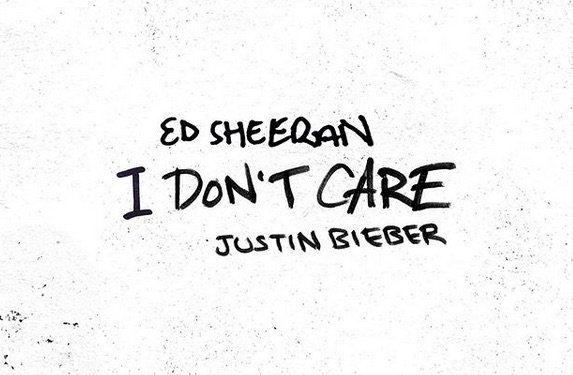Ed Sheeran I Dont Care feat. Justin Bieber