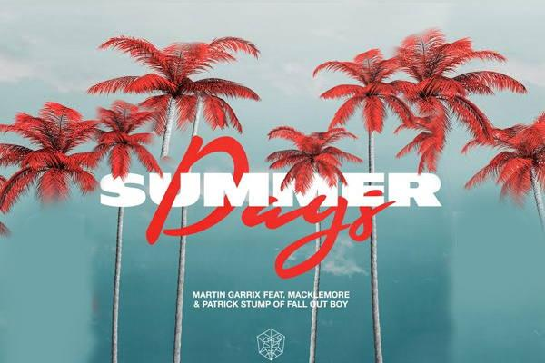 Martin Garrix Summer Days feat. Macklemore Patrick Stump