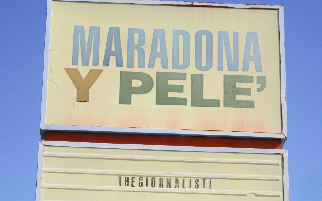 Thegiornalisti Maradona Y Pelé.