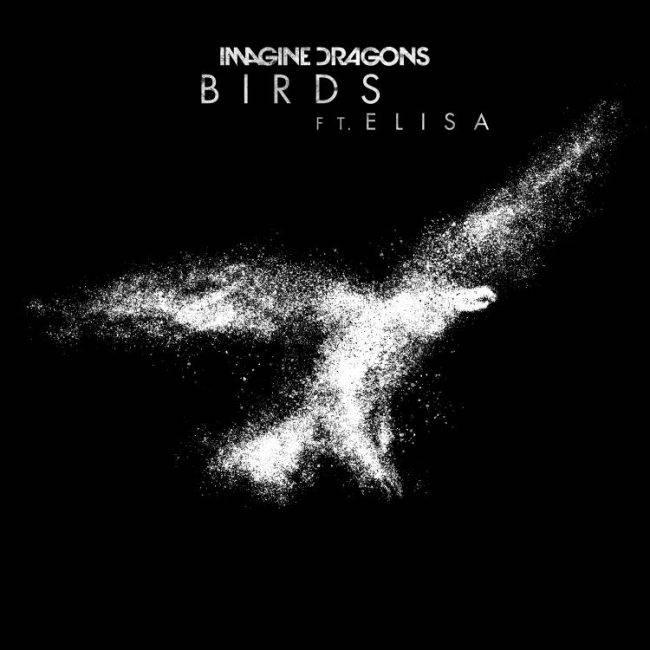 Imagine dragons feat Elisa cover singolo BIRDS