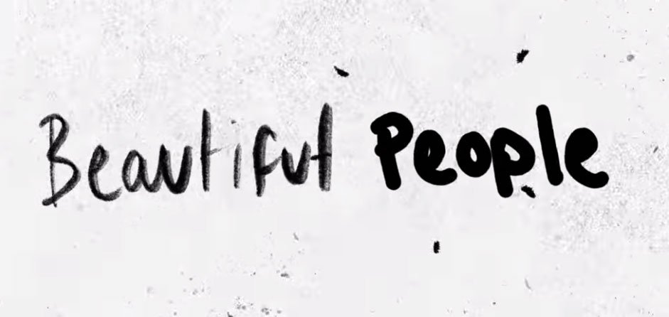 ed sheeran beautiful people