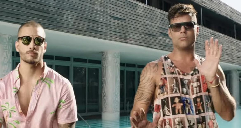 Maluma, Ricky Martin – No Se Me Quita