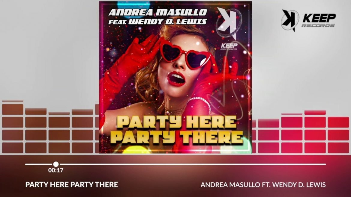 Andrea Masullo Ft. Wendy D. Lewis – Party Here Party There