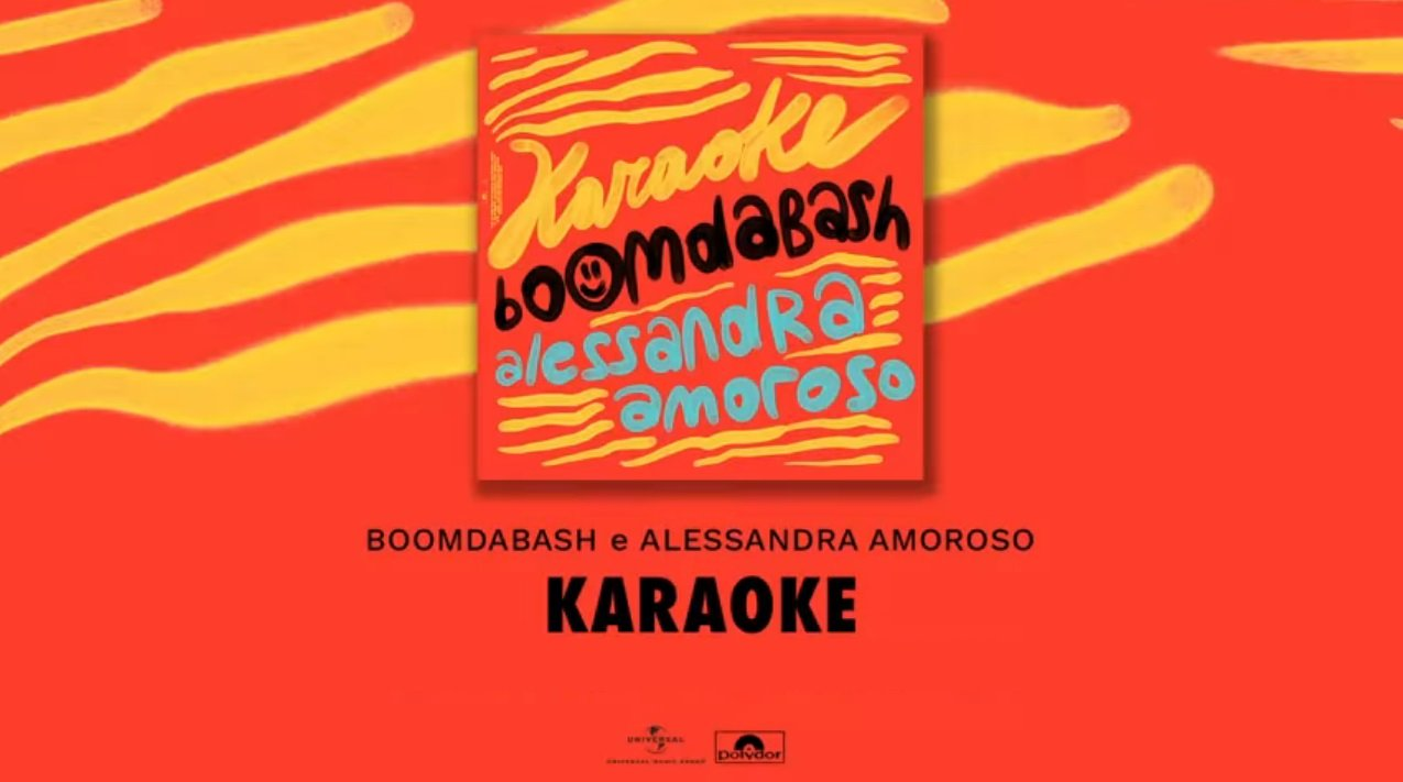 Boomdabash Alessandra Amoroso Karaoke