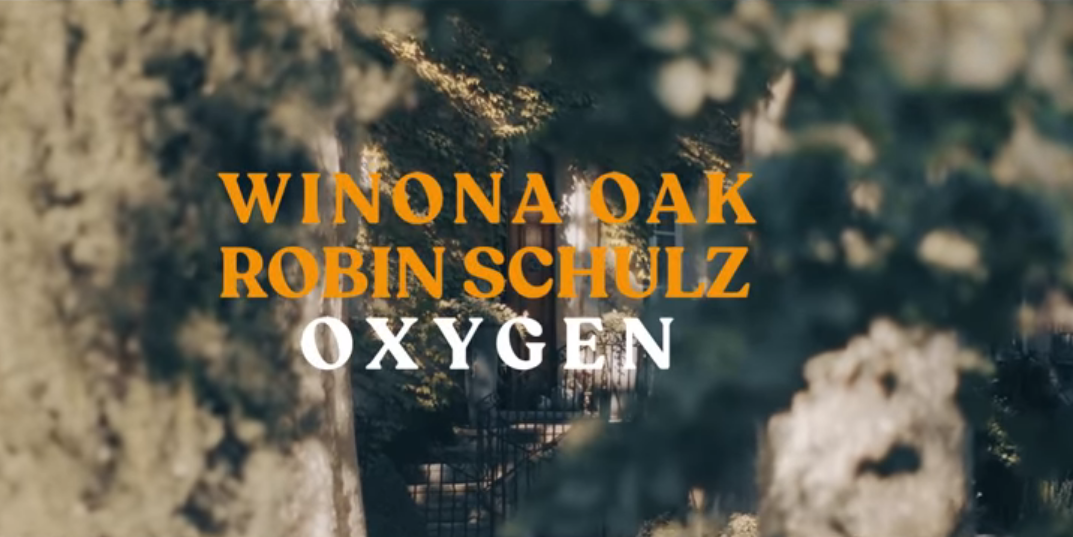 Winona Oak e Robin Schulz – Oxygen ( Video + Testo )