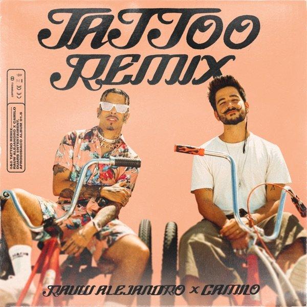 Rauw Alejandro Camilo Tattoo