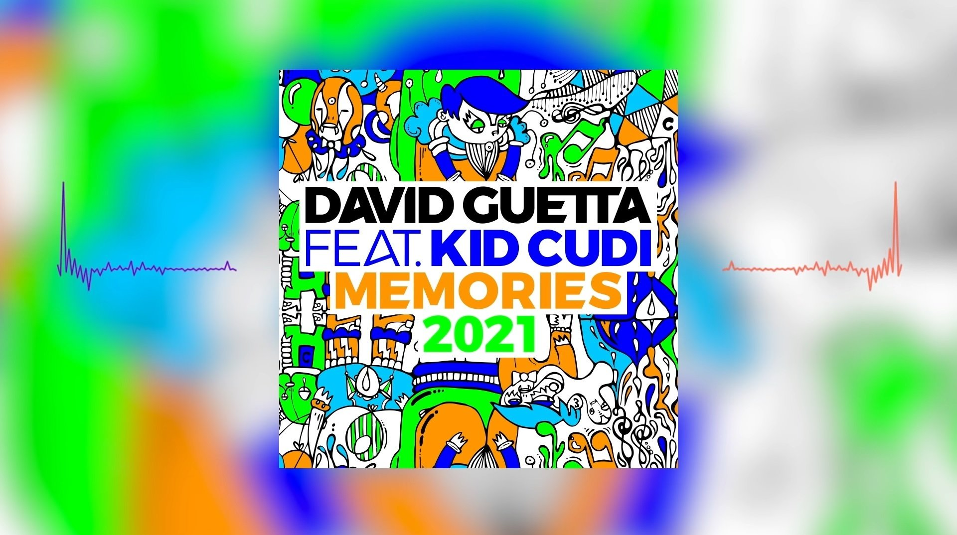 David Guetta Memories ft. Kid Cudi2021