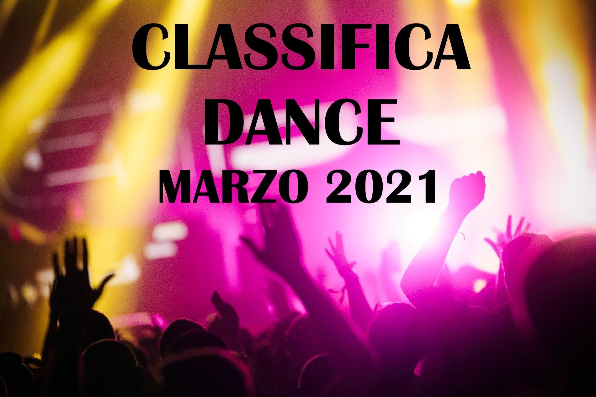 CLASSIFICA DANCE MARZO2021 LA MIGLIORE MUSICA DANCE MARZO2021