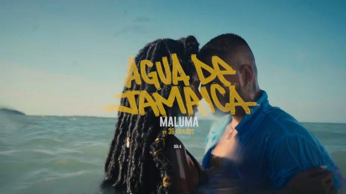 Maluma Agua De Jamaica Video Testo Lyrics Letra