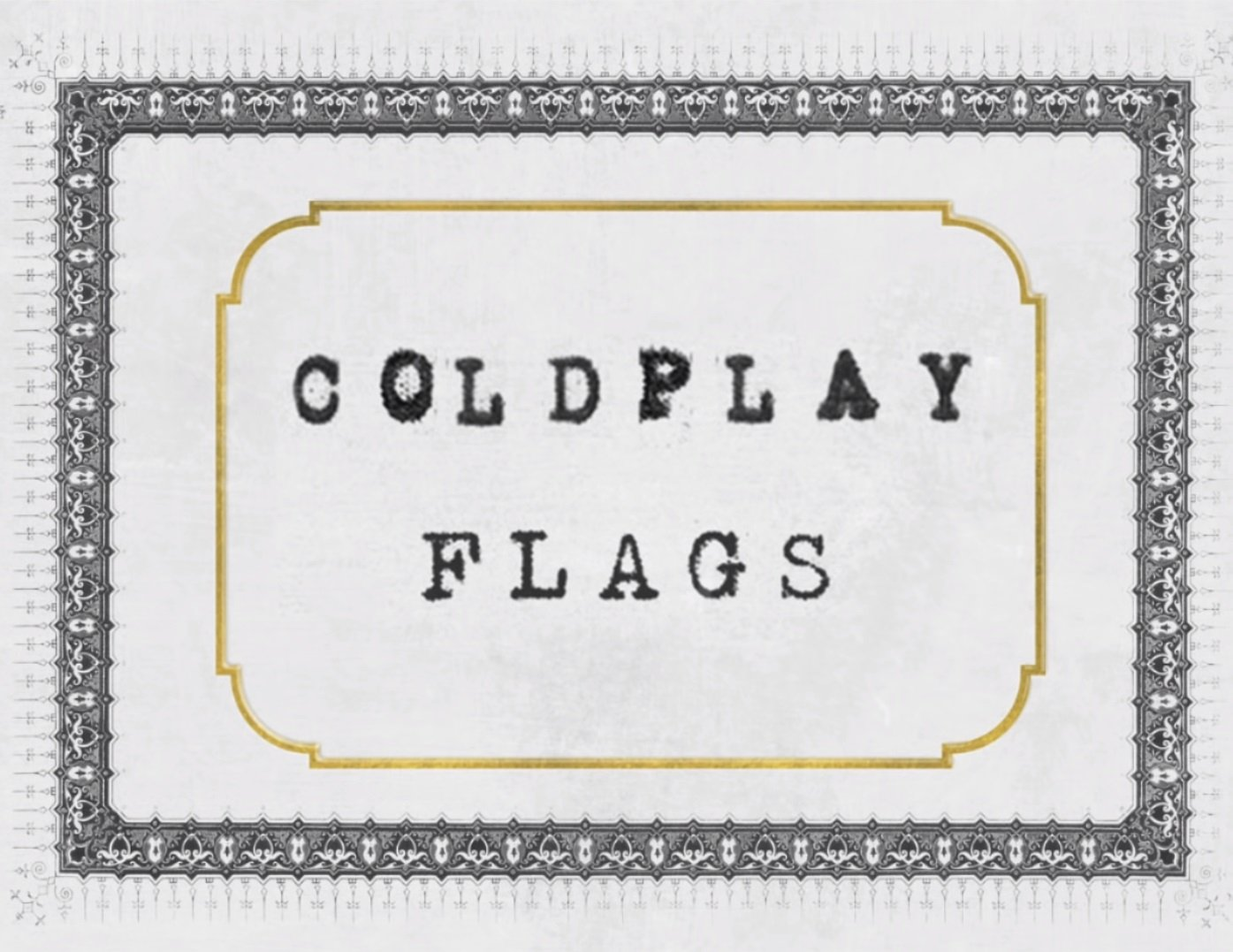 Coldplay Flags