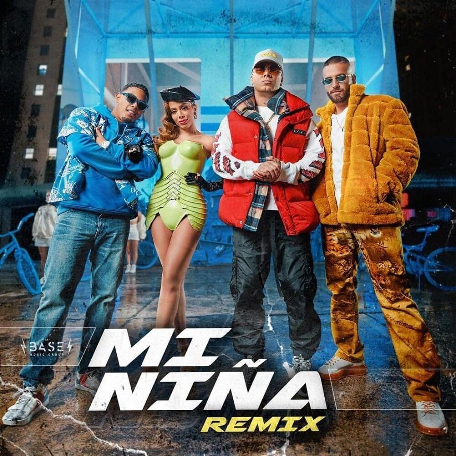 Wisin Myke Towers Maluma Mi Nina Remix ft. anitta