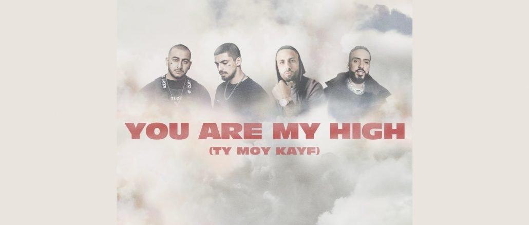 DZHARO KHANZA NICKY JAM FRENCH MONTANA You Are My High Ty moy kayf 1