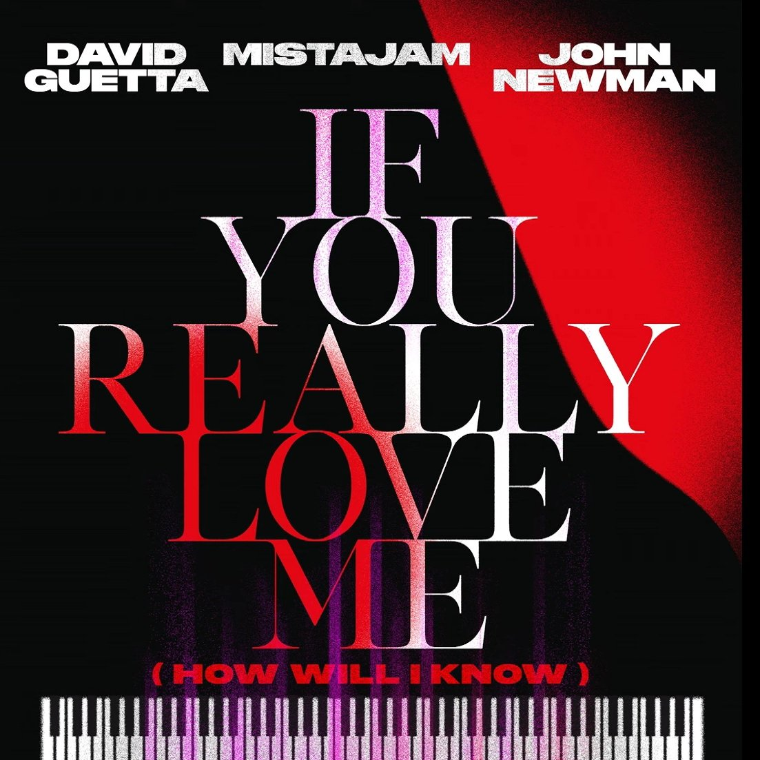 David Guetta x MistaJam x John Newman If You Really Love Me