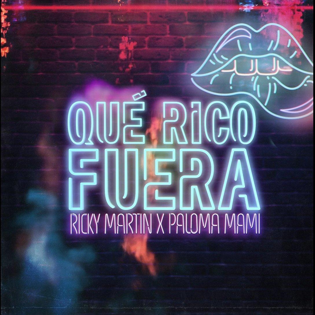 Ricky Martin Paloma Mami Que Rico Fuera 1