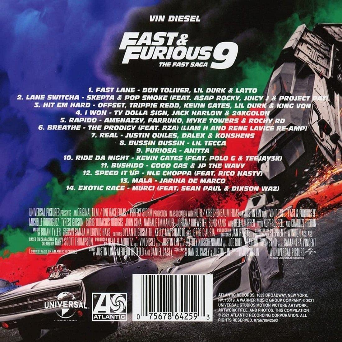 F9 THE FAST SAGA Soundtrack