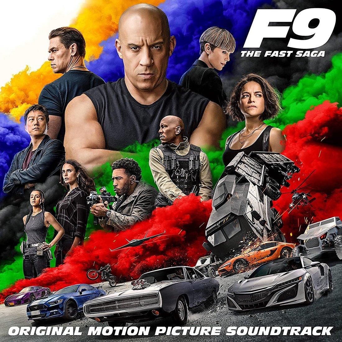 FAST FURIOUS 9 THE FAST SAGA Soundtrack UFFICIALE
