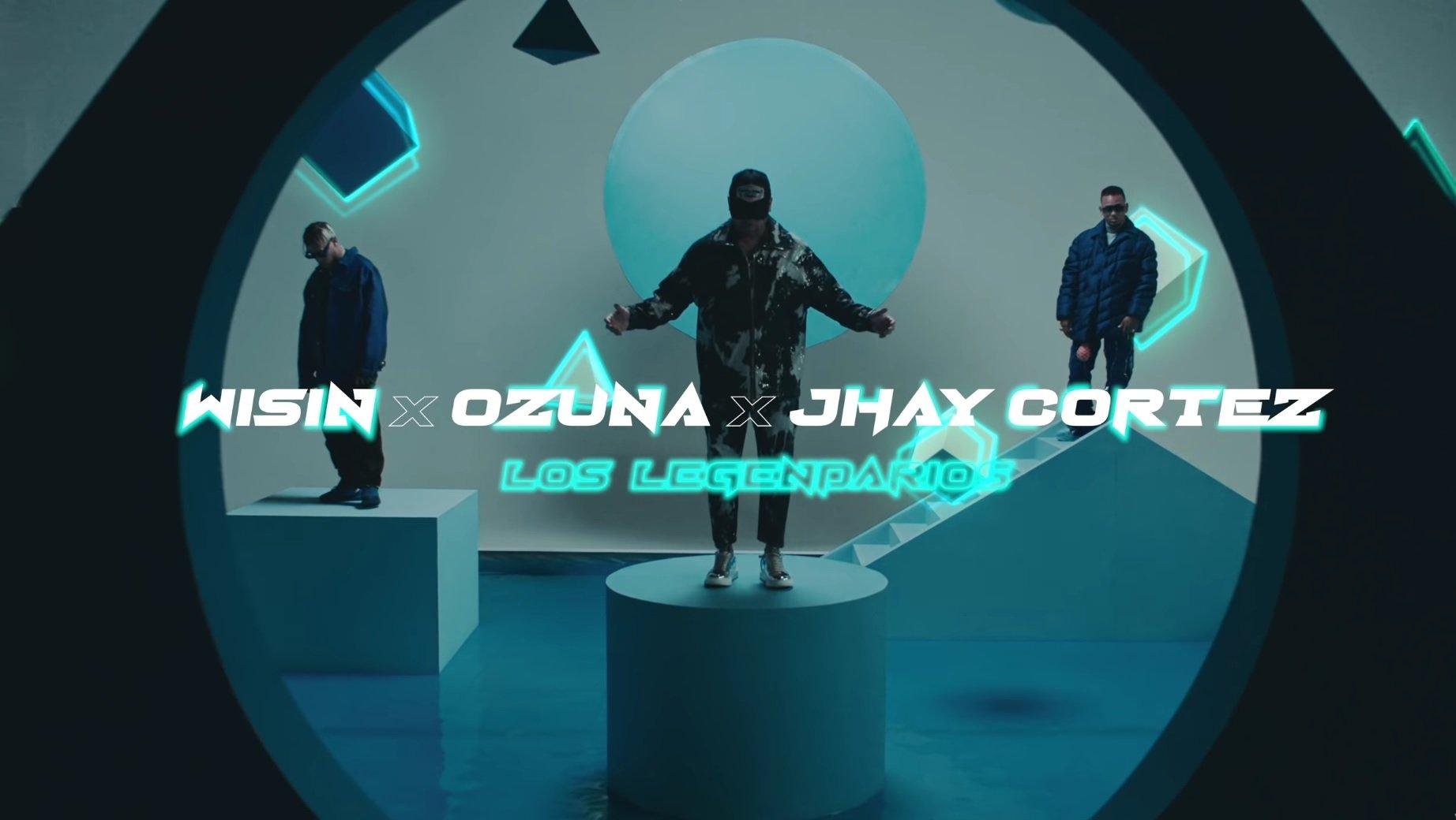 Wisin Jhay Cortez Ozuna Emojis de Corazones ft. Los Legendarios